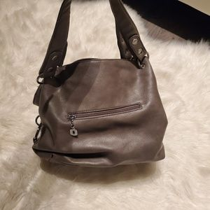 Bags - Sparkle faux leather handbag purse